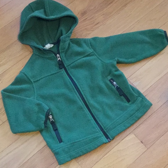 Lands' End Other - Land's End fleece zippered hoodie